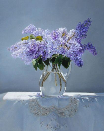 Lilacs by Yingzhao Liu