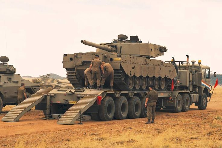 SADF Olifant tank
