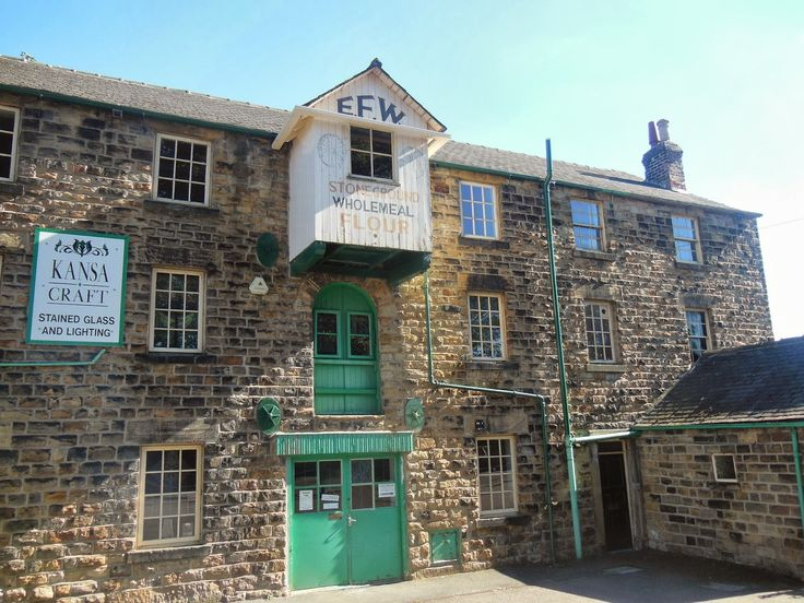 The Old Flour Mill in Elsecar, Barnsley South Yorkshire.