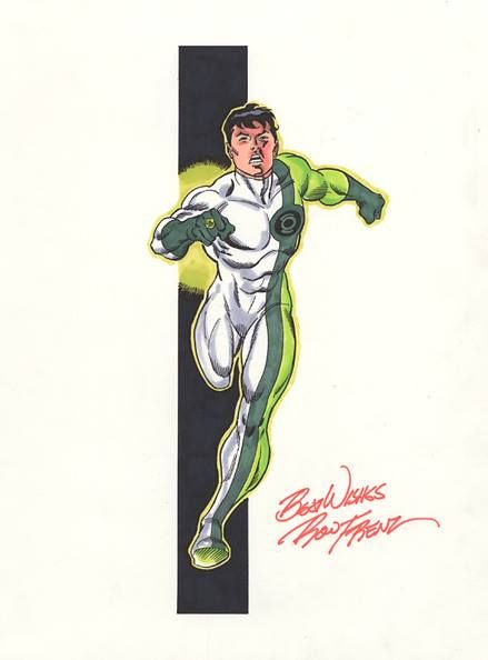 Green Lantern by Robert Atkins, color by Simon Gough ... |Books Super Heroes Green Lantern