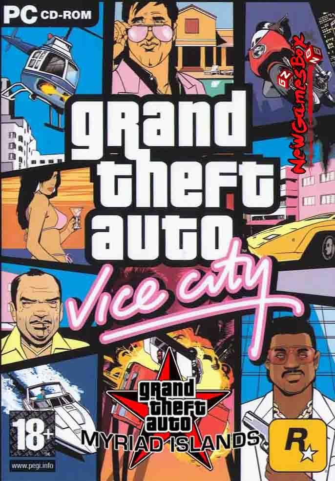 GTA Vice City: Myriad Islands PC Game Free Download Full Version
