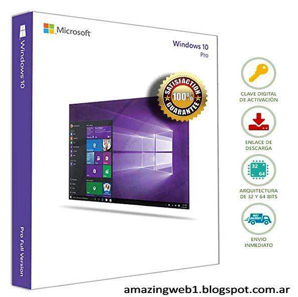 Windows 10 Full Ultima Versión 2019 Sin Errores Activador Windows Windows 10 Microsoft