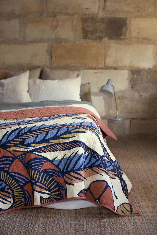 A new addition to the Home range, the warm and soft quilt is the perfect end of bed throw, or a snuggly addition to a sofa. The fun and colourful...