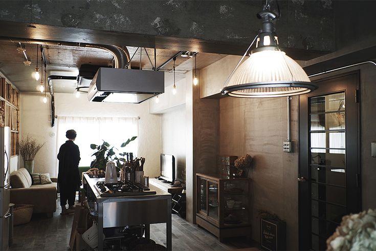 キッチンが中心のリビング。  by EIGHT DESIGN
