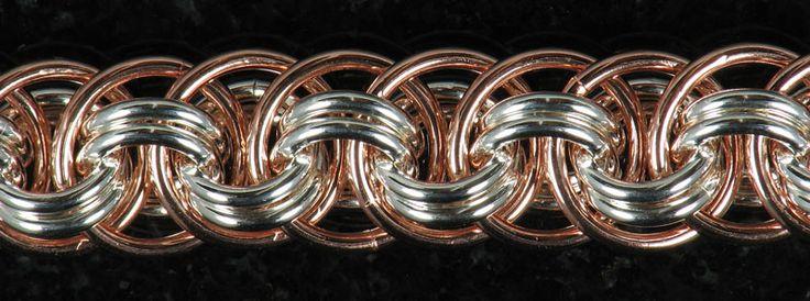 Basket Weave Chainmaille Tutorial : M a i l maille artisans international league orbital