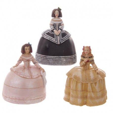 Tirelire Figurines Femmes Espagnoles