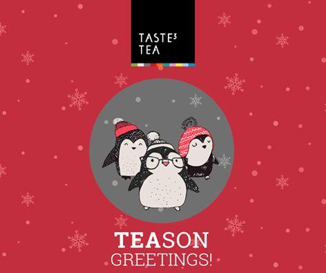 TASTE3 TEA TEASON Greetings