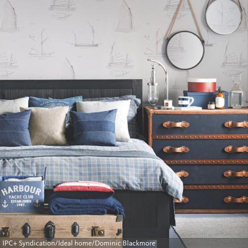 ber ideen zu bettw sche maritim auf pinterest. Black Bedroom Furniture Sets. Home Design Ideas