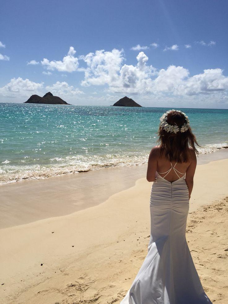 Nicole Miller Beach Bride