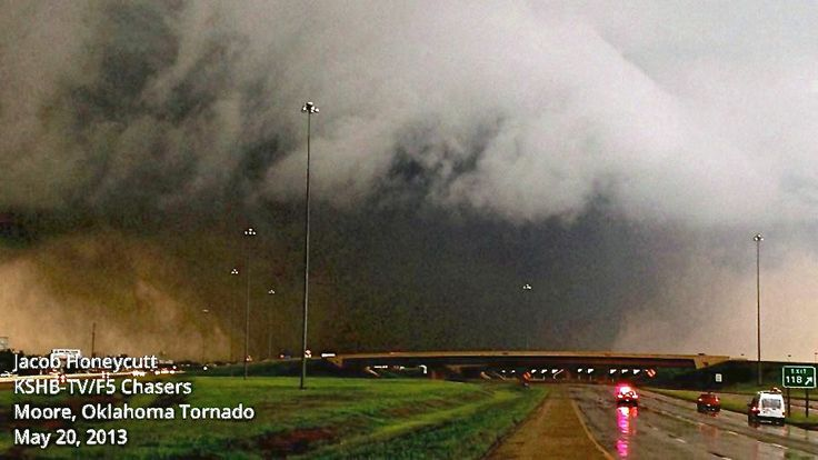 Biggest Tornado in the World   This Moore tornado was huge in relation to how big tornadoes can get ...