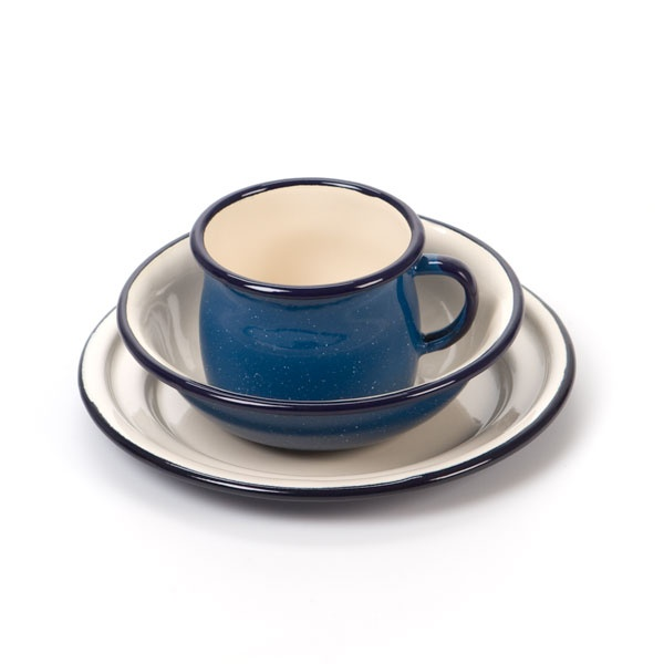 Nova Natural Toys & Crafts - enamel cup, bowl & plate set
