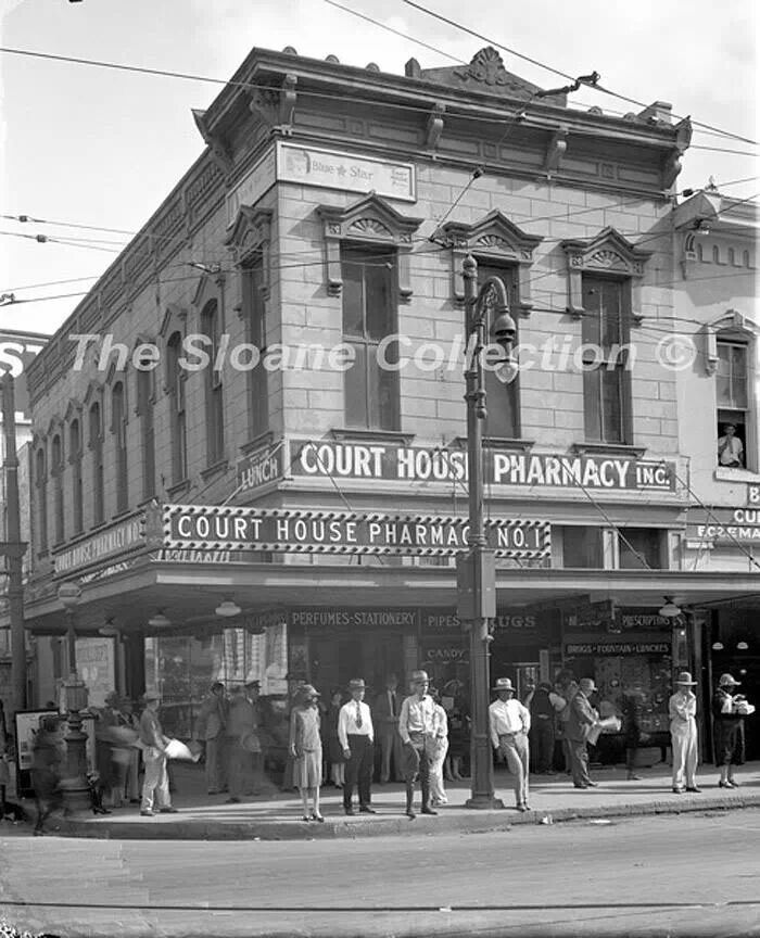 Courthouse Pharmacy, Houston Texas, 1920's