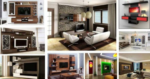 Fabulous Ideas for TV Cabinet Designs - Architecture Admirers