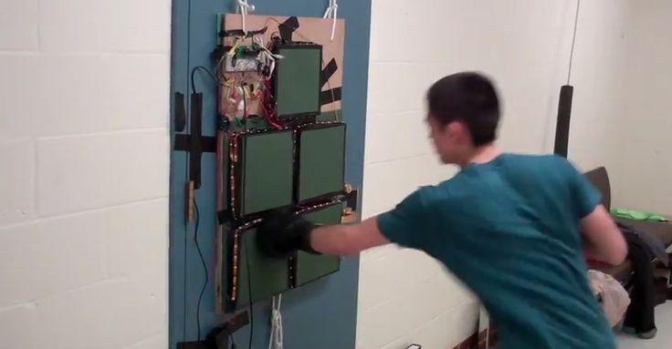 Boxing Trainer Uses DIY Force Sensors | Hackaday