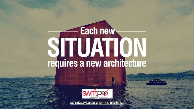 Each New Situation requires a new #architecture #interiordesign Contact Us : 011 46021546