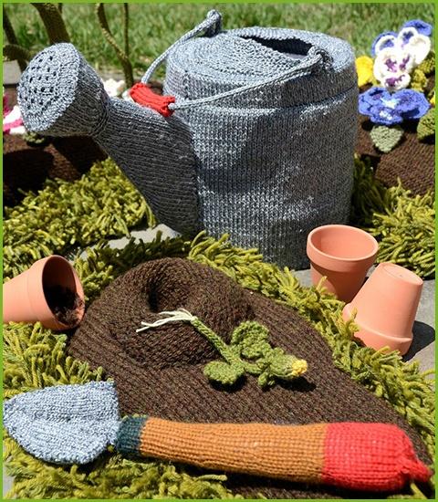 14 best images about knit a garden on pinterest gardens