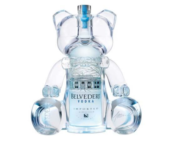 This cute little bear shape bottle is a limited edition by Belvedere. Created from a shell, the backlit bottle can be hung. The bottles are are designed by Jean-Roch and are available at the VIP Room in Cannes, Saint Saint Tropez and Paris. Price: $7,240