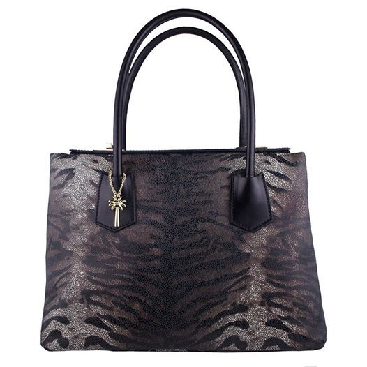 Animal prints are in this season! This classic tote won't just give you that animal-print touch this season, it's elegant style will make it a much-loved handbag for years to come!