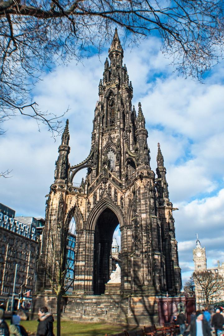 Scott Monument,Edinburgh - Scotland