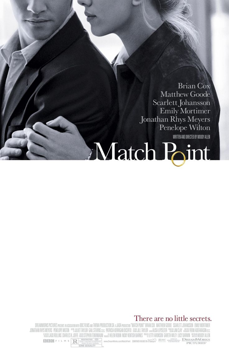 """""""Match Point"""" (2005). COUNTRY: United Kingdom. DIRECTOR: Woody Allen."""