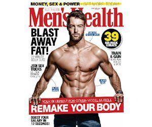 FREE Subscription To Men's Health Magazine!