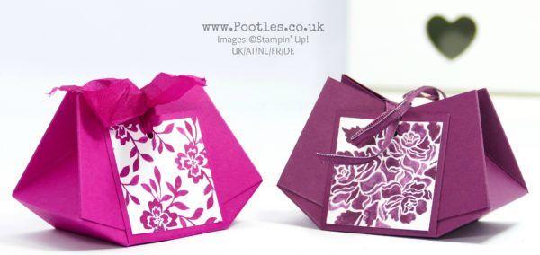 Stampin' Up! Demonstrator Pootles - No Glue Stitched Darling Bag