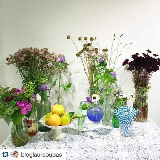#Repost @bloglauraoupas with @repostapp. ・・・ Ce soir je découvre la jolie marque @lei.1984 qui sortira l'été prochain, en attendant je vais faire mon #bouquet #champêtre avec @lepicerievegetale  #decoration #cute #spring #summer #love #vintage #flowers #countryside #paris #now #party #fashion #blogger #fun #girl #instagood #lace #bottle #white #leï1984