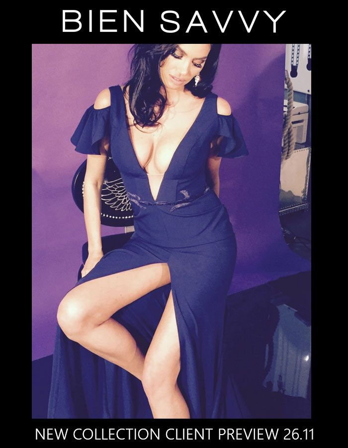 26.11 in #bucharest, BIEN SAVVY is launching the new evening collection: I Love... Me.  Click to see more exclusive pics from the shooting of the new evening dresses.
