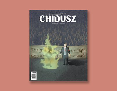 """Check out new work on my @Behance portfolio: """"English-language issue of CHIDUSZ"""" http://be.net/gallery/47497943/English-language-issue-of-CHIDUSZ"""