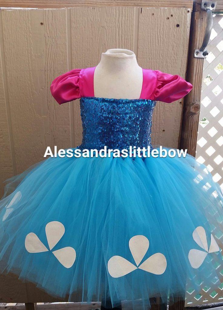 Troll princess tutu dress
