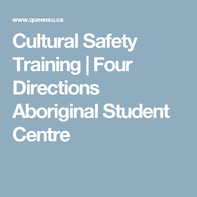 Cultural Safety Training | Four Directions Aboriginal Student Centre