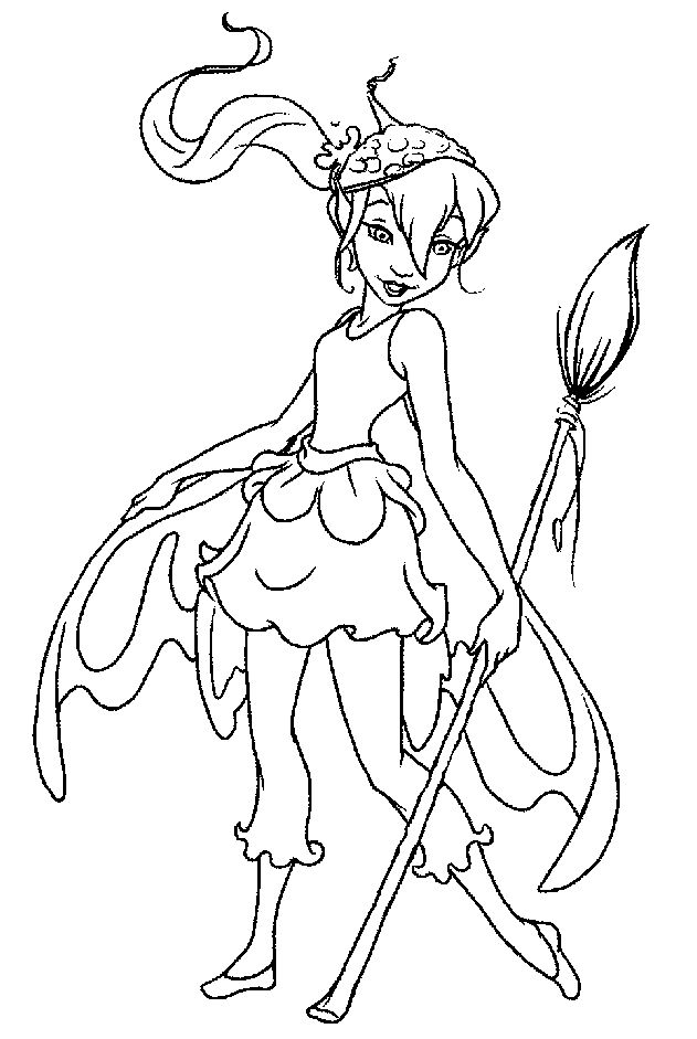 fairy coloring pages pinterest - photo#18