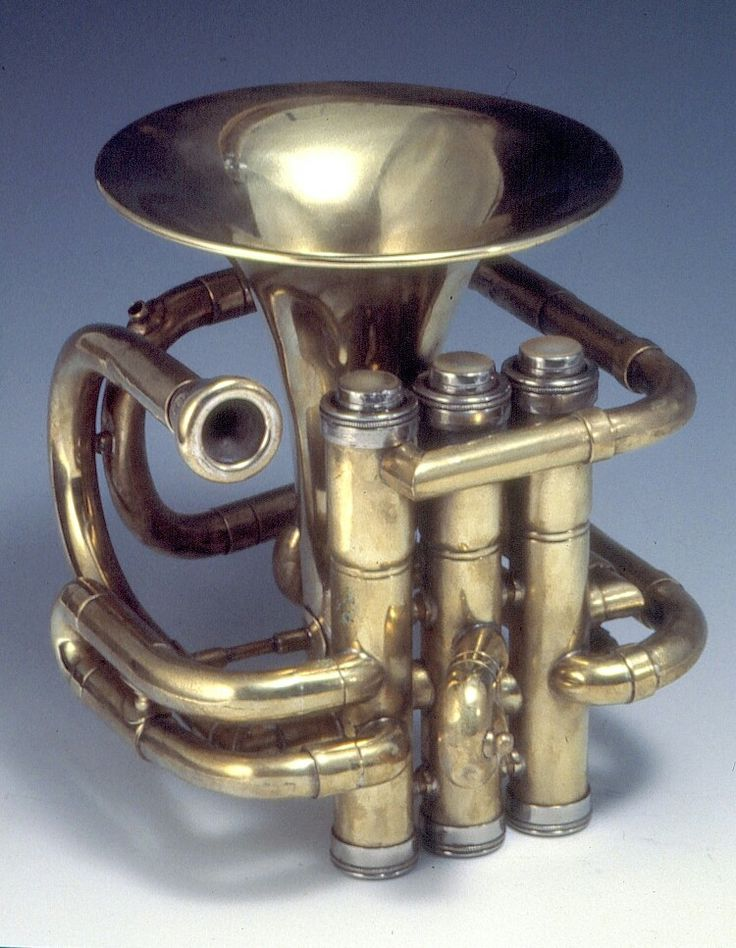 Totally wierd trumpet