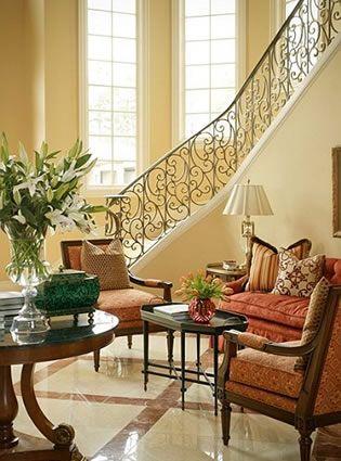 Mediterranean EstateFairley Interiors, Design Ideas, Dreams House, Living Room, Interiors Design, Staircases Railings, Toby Fairley, Mediterranean Estate, House Stairs