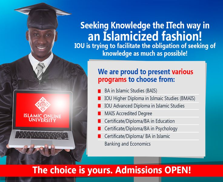 Get offer Bachelors, Certificate and Diploma program, completely online!