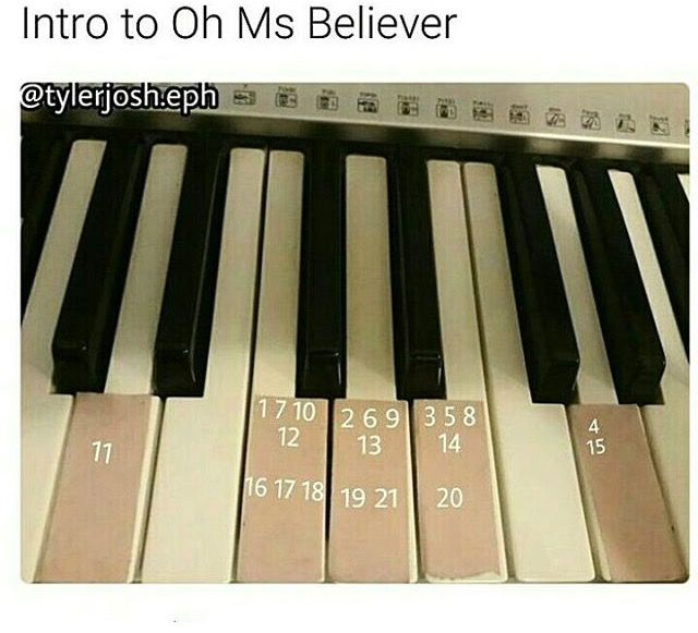 Intro to oh Mrs Believer<< I play the bass and I know how to play it on there