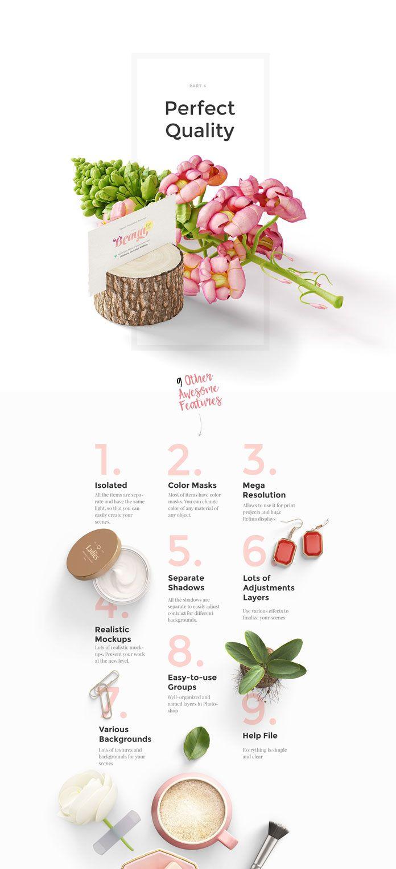 Beauty Mockup Scene Creator with Feminine Products