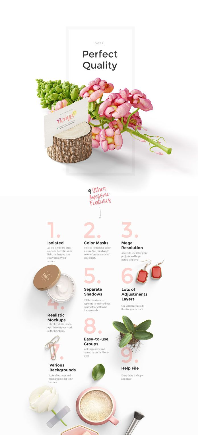 Beauty Mockup Scene Creator with Feminine Products