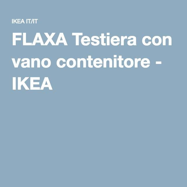 Oltre 1000 idee su testiera verde su pinterest testiere for Ikea letto flaxa