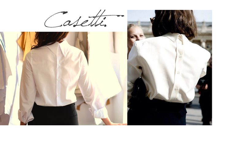 Our new masterpiece: #Casetti shirt Simplicity at its best on our shop: www.theitem.co
