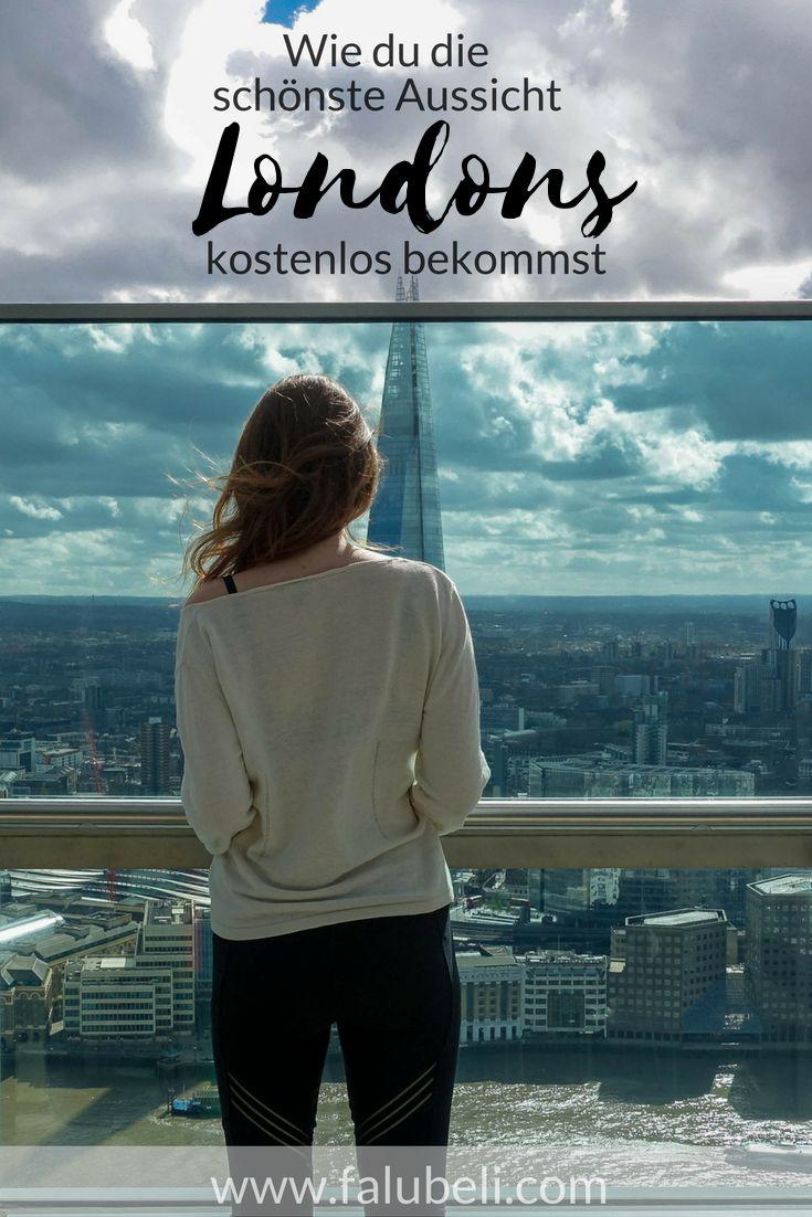 Ich zeige dir wie du die schönste Aussicht von ganz London kostenlos bekommst. Mit einem wundervollen Ausblick auf verschiedene Sehenswürdigkeiten wie die Themse, The Shard und die Tower Bridge. Jetzt auf WWW.FALUBELI.COM