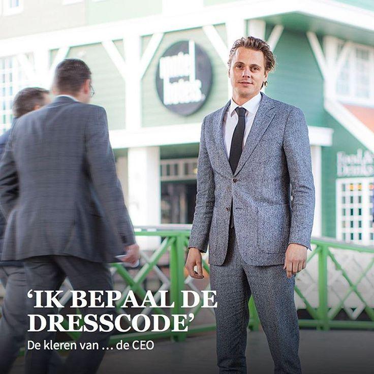 De kleren van Menno Kuijzer (36), directeur van NewBrand  #intermediair #magazine #interview #ceo #dresscode #clothes #suit #carriere #werk #arbeid #arbeidsmarkt #work #kleren