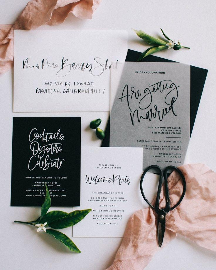 10 Wedding Invitation Suites That Will Make