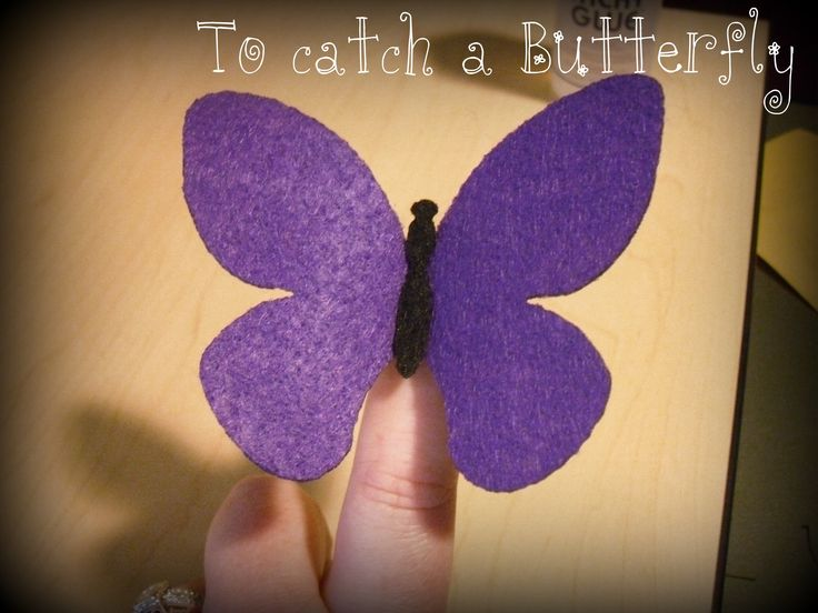 To catch a Butterfly - Reverence Idea