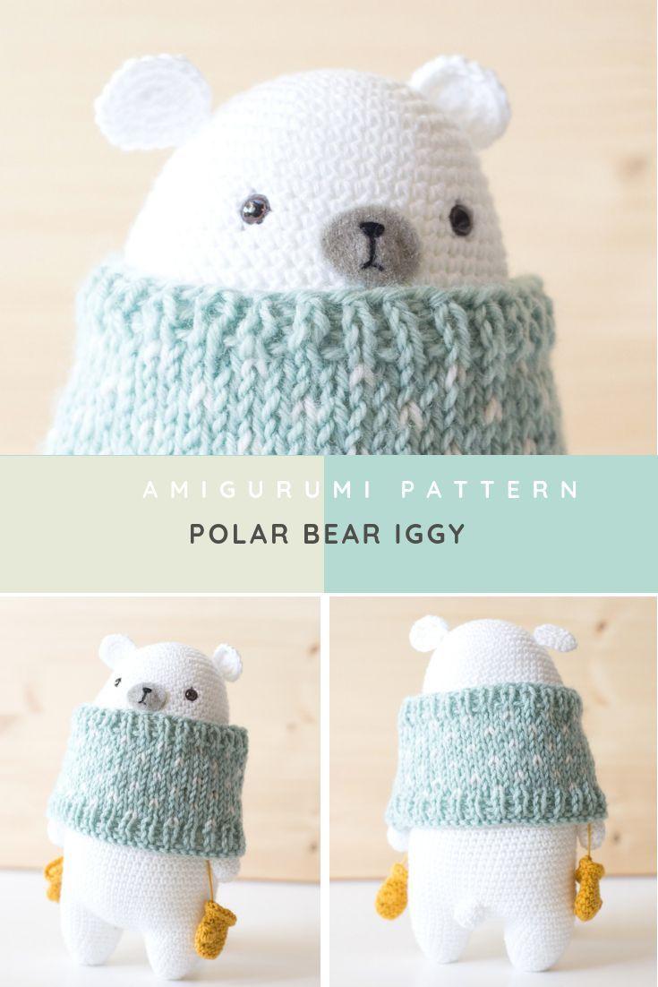móhu — kawaii polar bear pattern | 1102x735