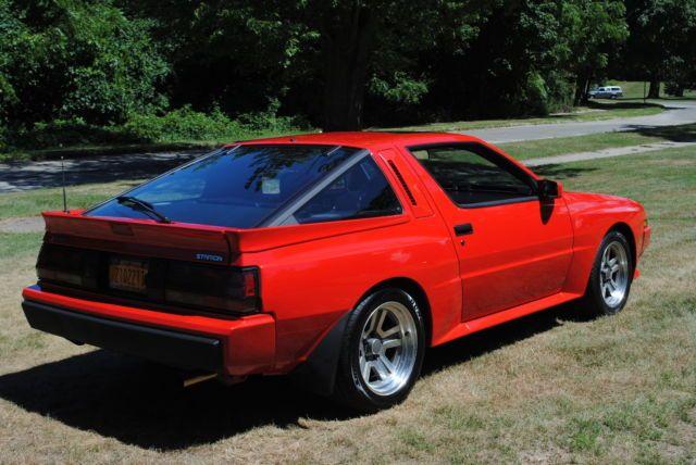1987 Mitsubishi Starion Esi R Conquest For Sale Photos Technical
