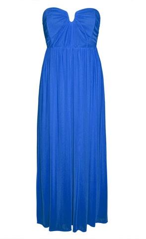 Georgie Royal Blue Maxi Dress $59.95  www.littlepartydress.com.au