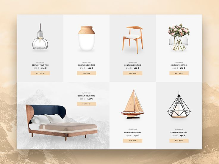 List products furniture for website by Hoang Bin