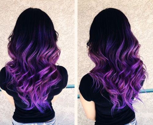 Purple Hair Dye Styles: Best 25+ Brown To Red Ombre Ideas On Pinterest