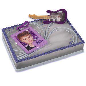 Bakery Crafts Justin Bieber Cake Kit, 1 EA / BX $8.88 #bestseller